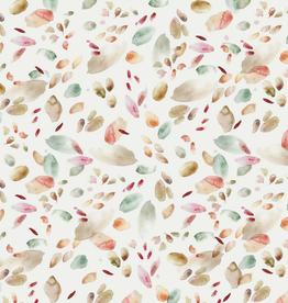 Family Fabrics Tricot - Family Fabrics - Abstract Leaves