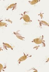 Family Fabrics Tricot - Family Fabrics - Turtles
