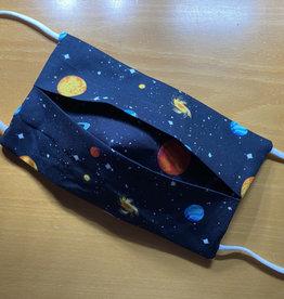 Mondmasker Kids - Planets Enveloppe
