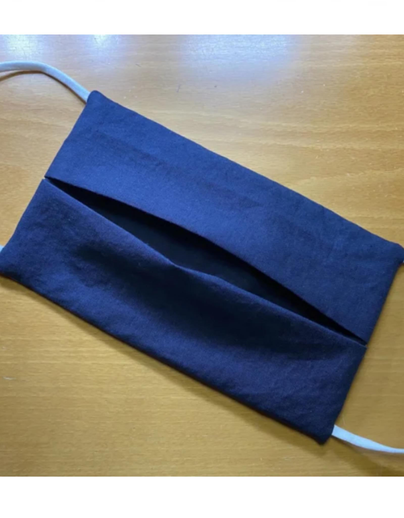 Mondmasker - Effen Marineblauw - Enveloppe