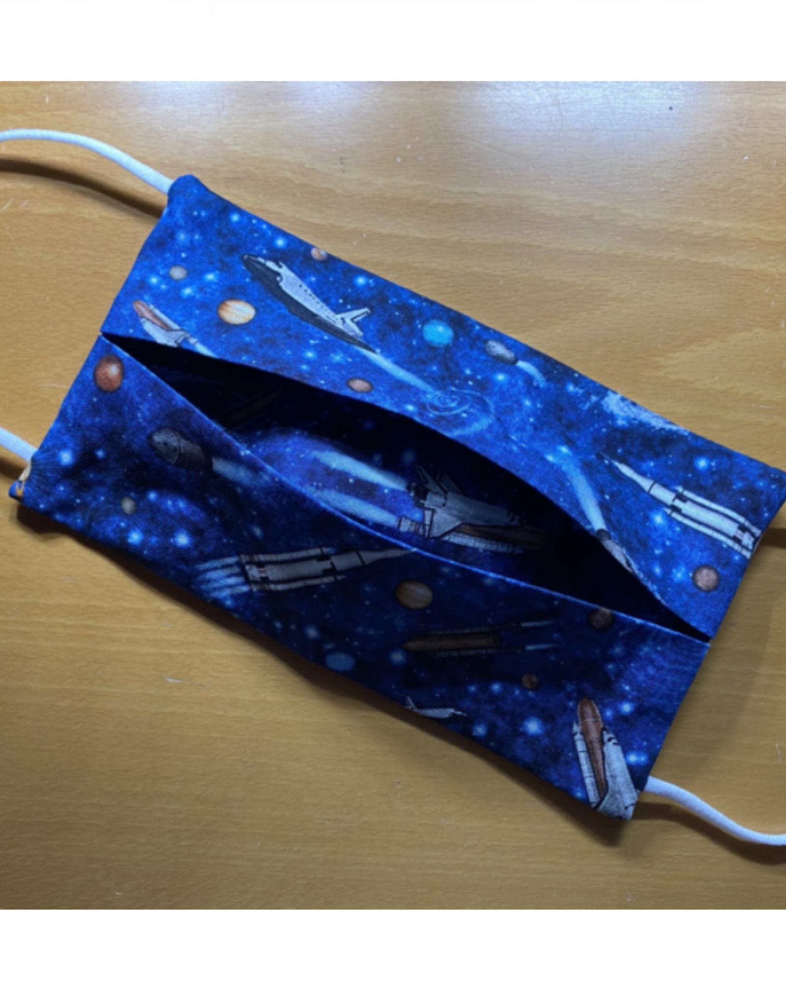 Mondmasker - Raket Blauw - Enveloppe