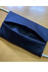 Mondmasker - Effen Zwart - Enveloppe