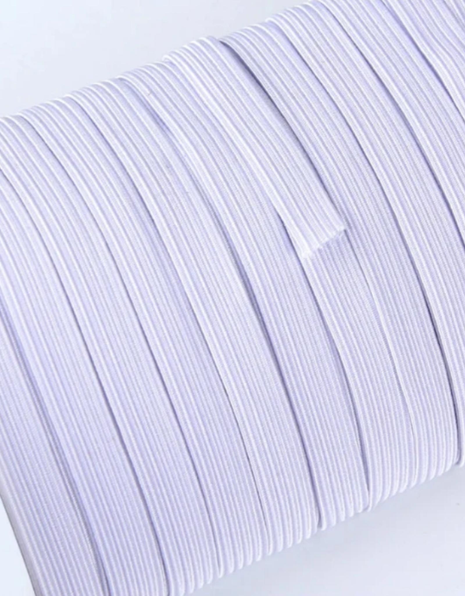 Kookvaste elastiek voor mondmaskers 6mm - per meter