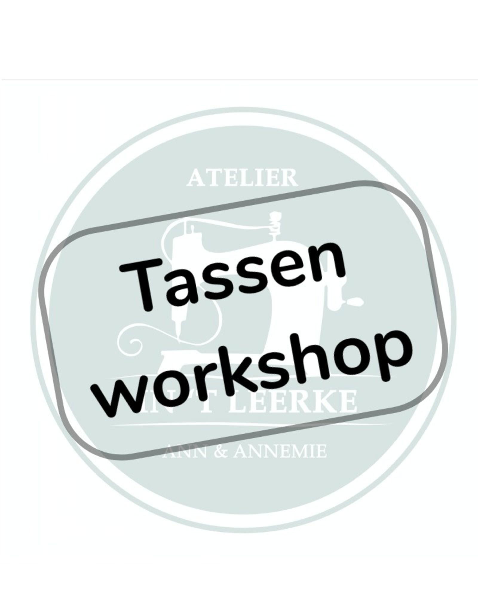 Tassenworkshop - 7 november 2020