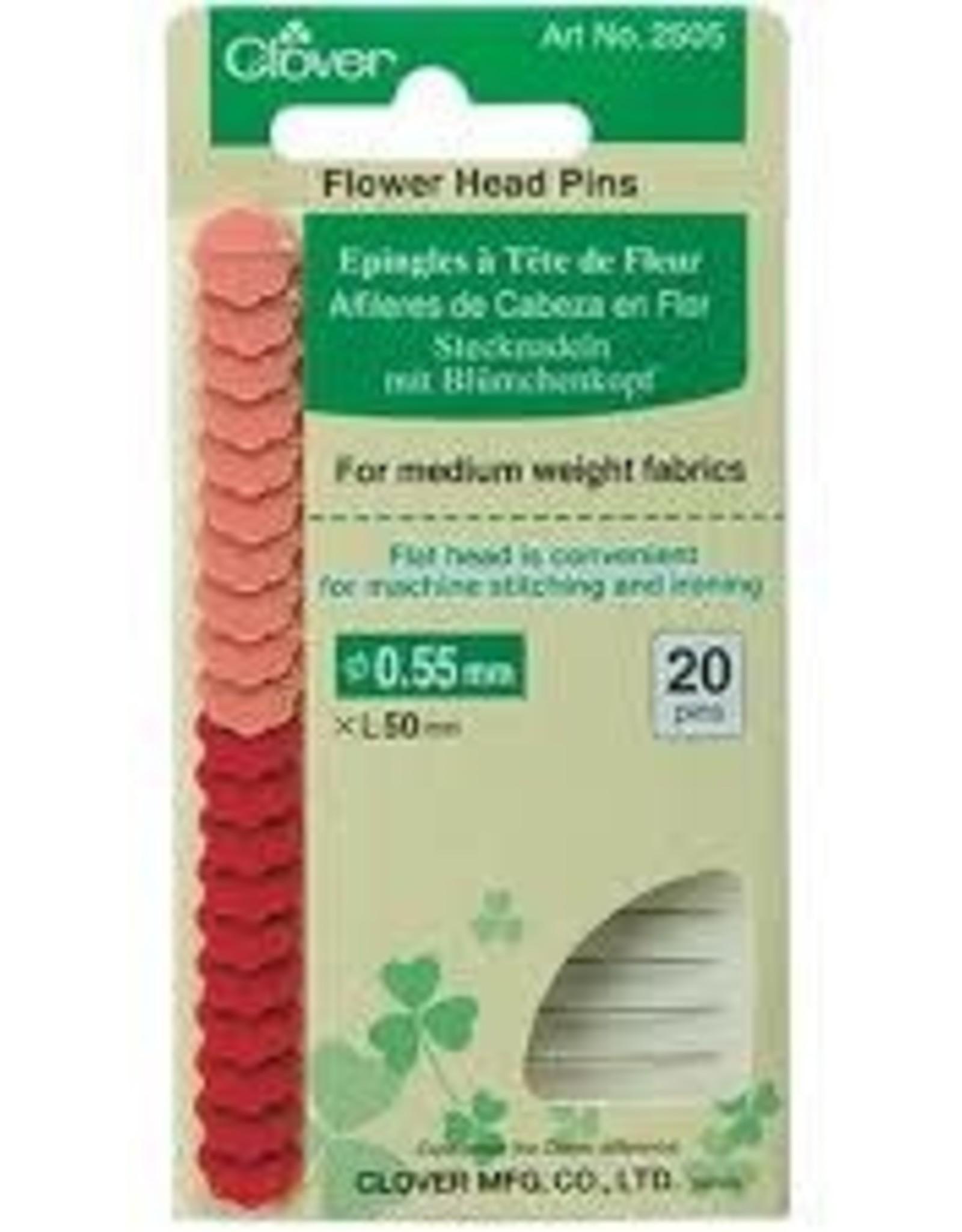 Clover Clover - Flower Head Pins 50x0.55mm