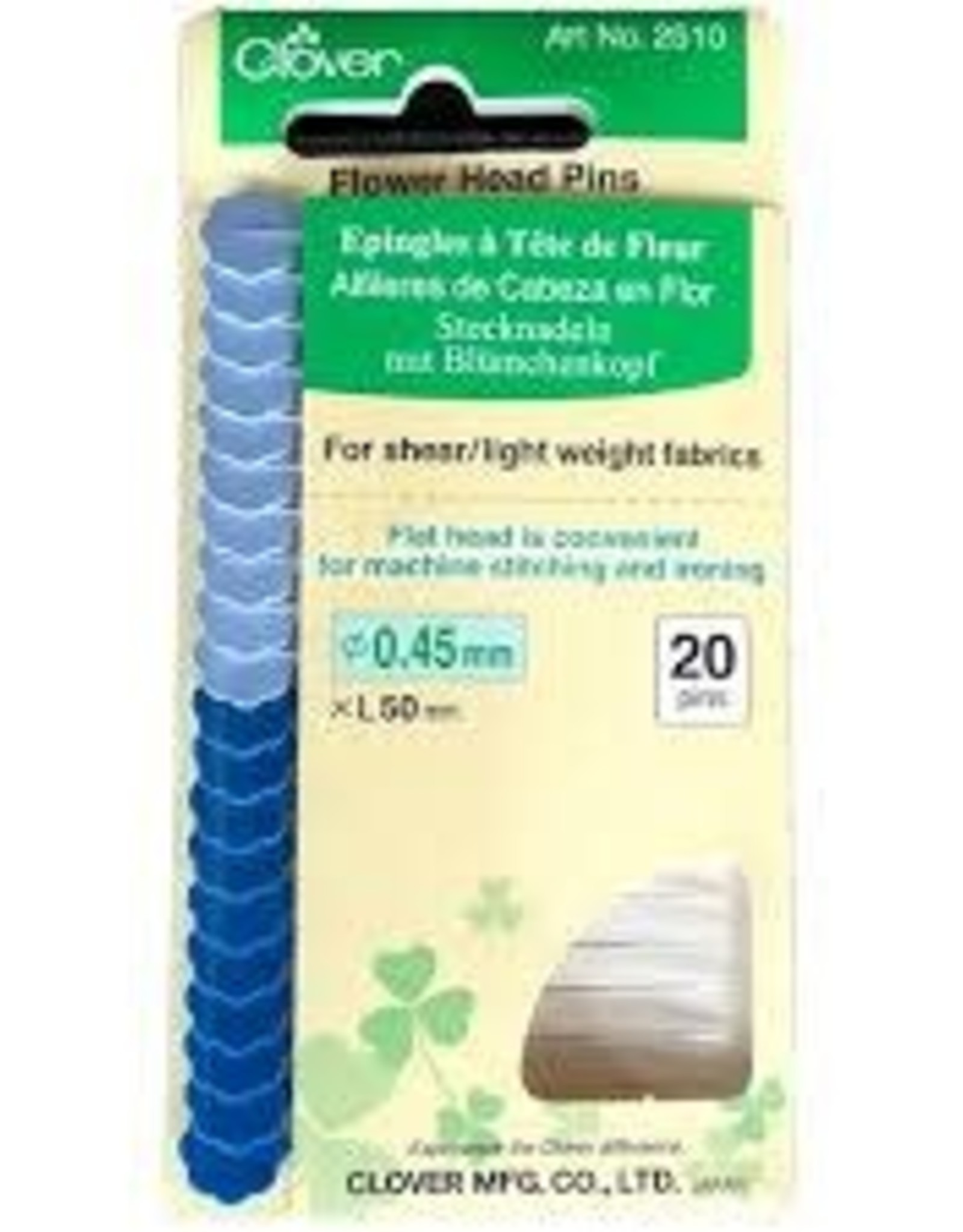 Clover Clover - Flower Head Pins 50x0.45mm