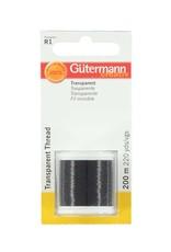Gutermann Gutermann - Transparant Garen Zwart
