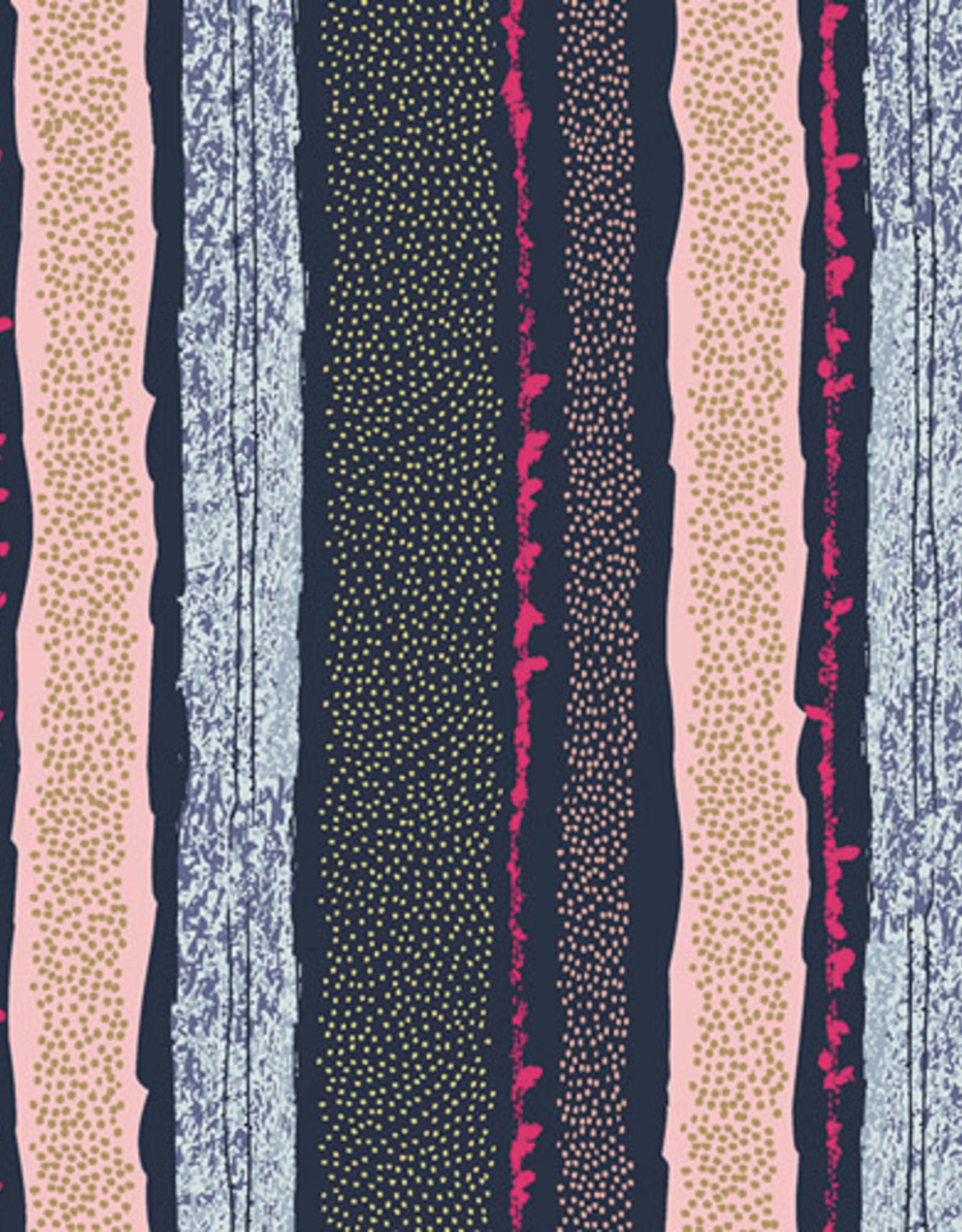 Art Gallery Fabrics Katoen - Straws of District