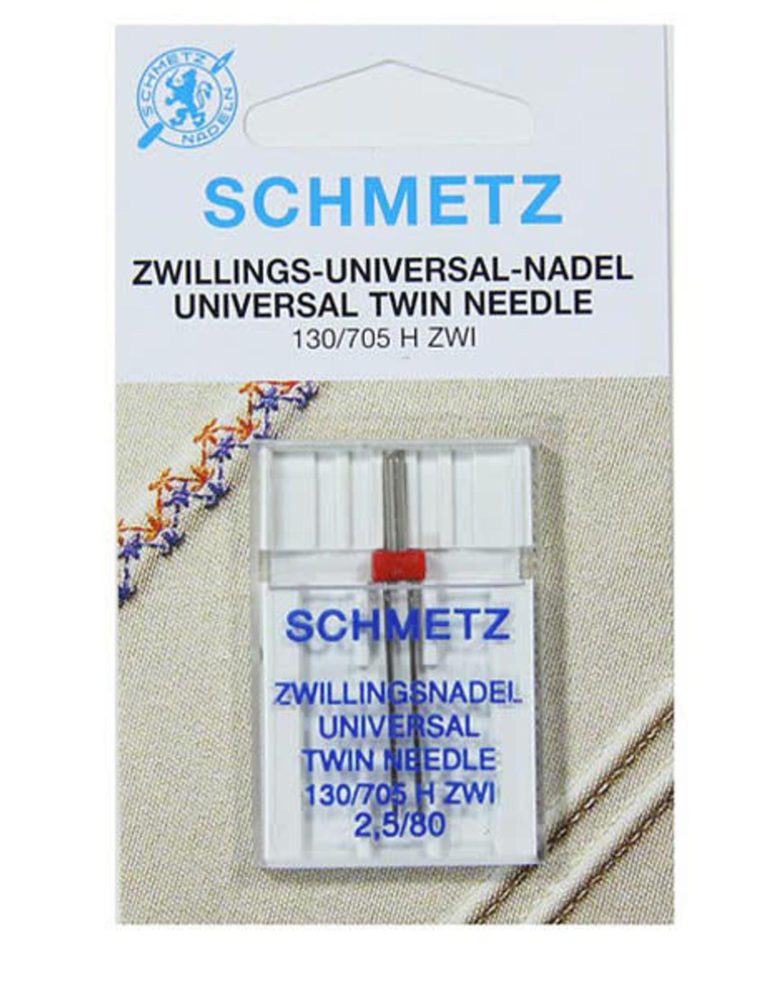 Schmetz Schmetz Universeel Tweelingnaald 2.5