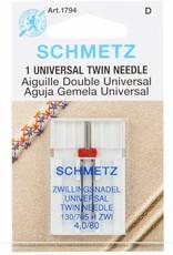 Schmetz Schmetz Universeel Tweelingnaald 4.0