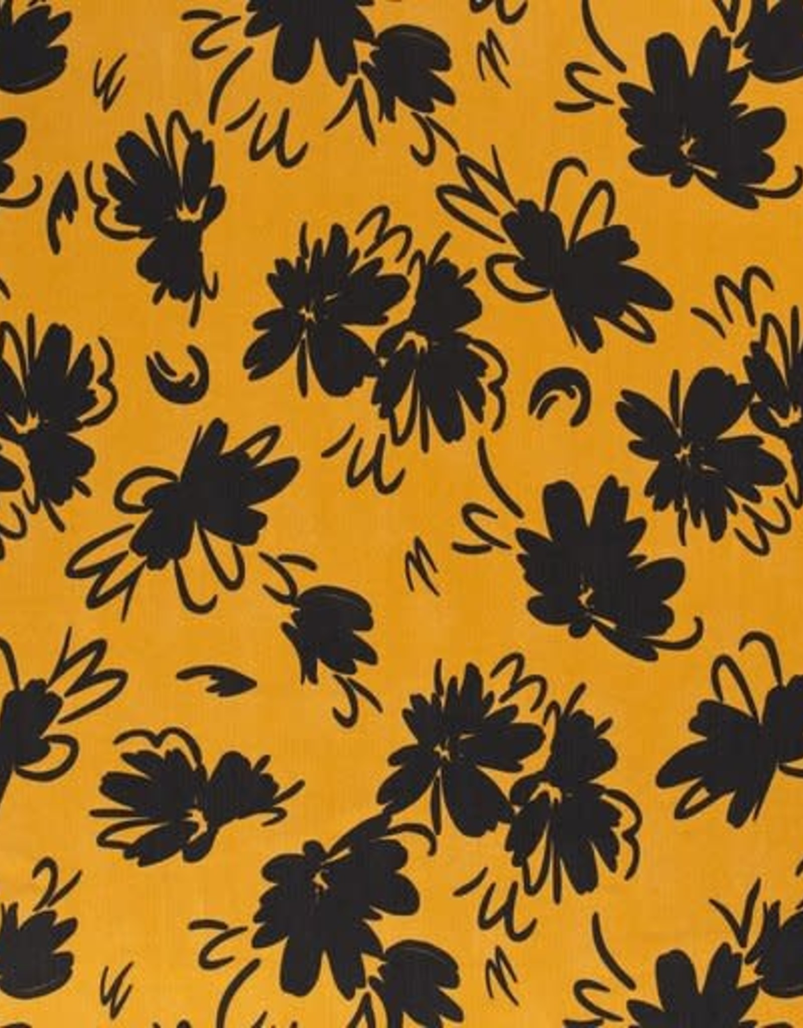 Tencel - Flores Ochre