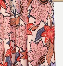 Atelier Jupe Viscose - Atelier jupe - Zachtroze Bloemen