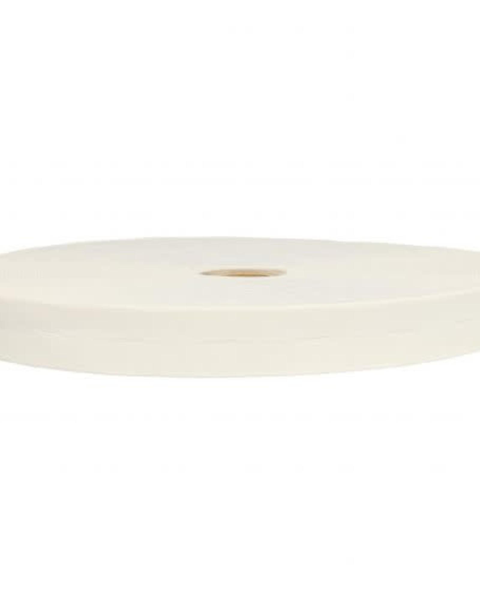 Knoopsgat-elastiek 20mm - Wit