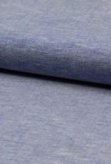Viscose-linnen - Kobalt Gemeleerd