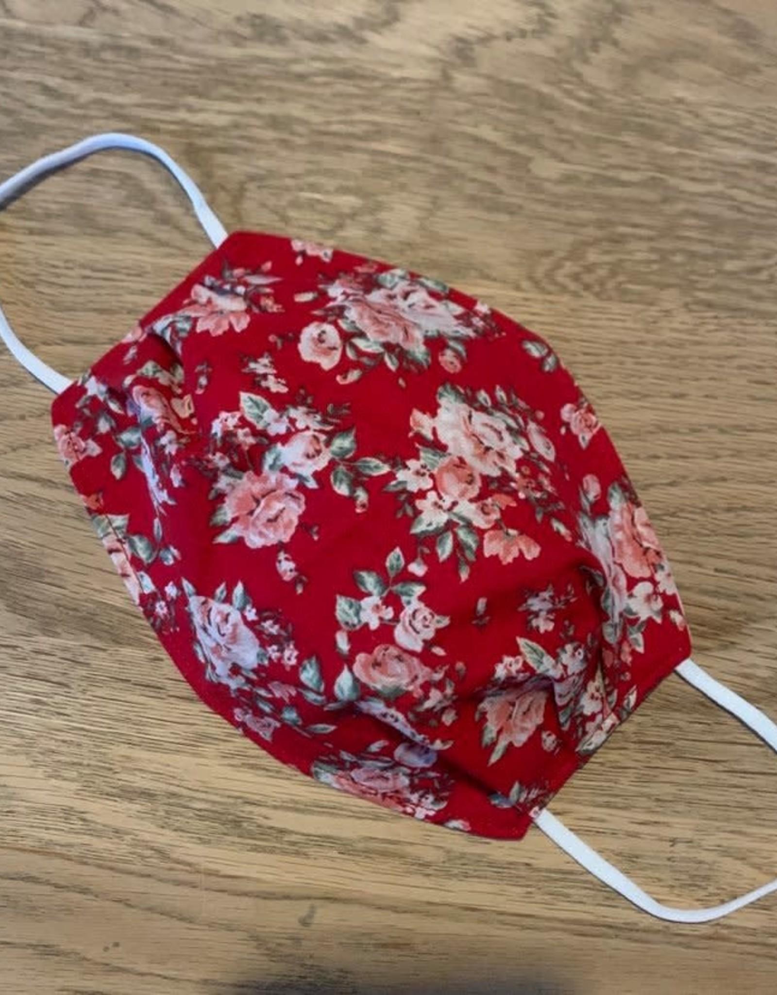 Mondmasker  - Red Roses