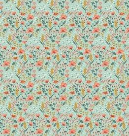 Katoen - Flow Flow Flowery Mint