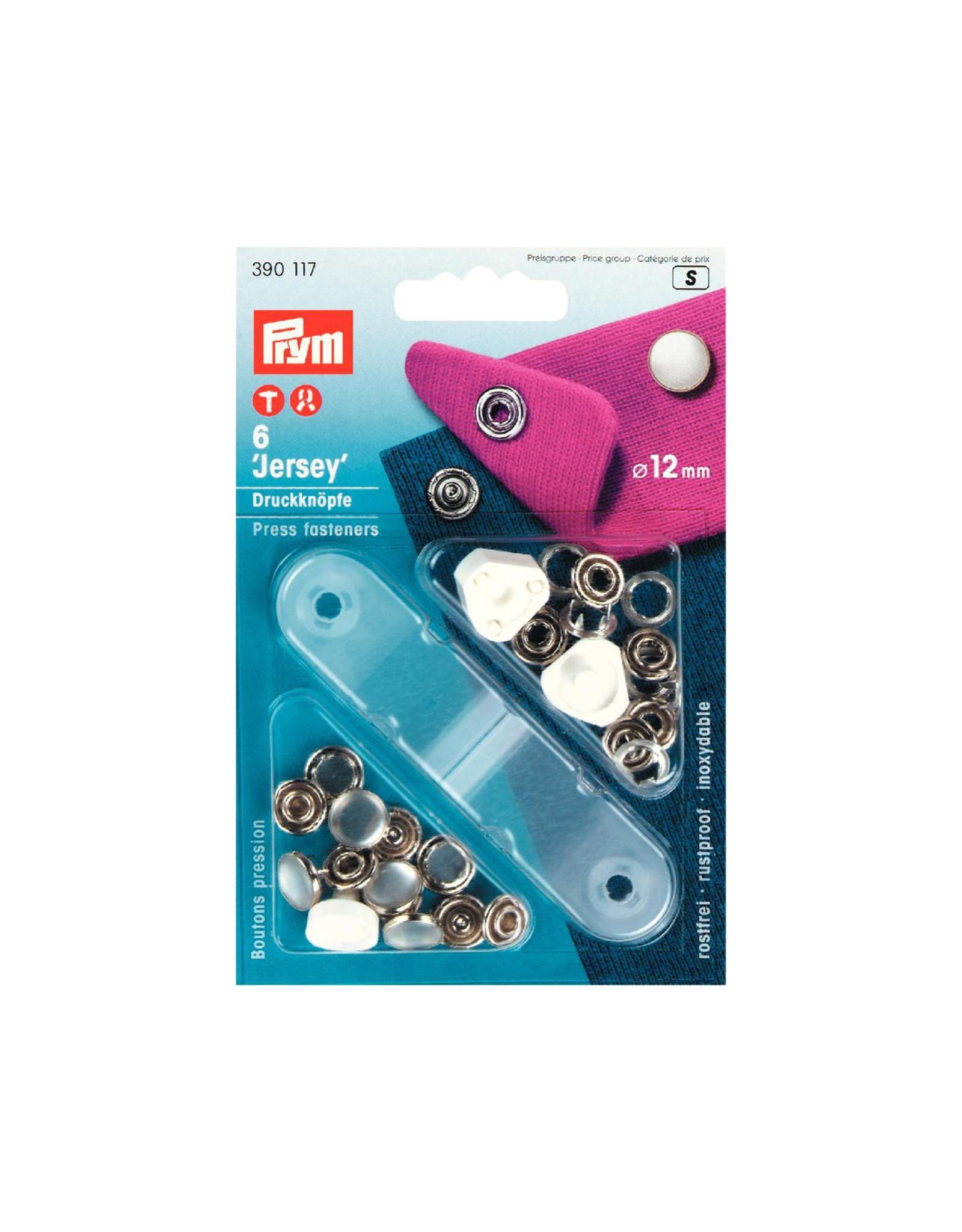 Prym Prym 390.117 - Jersey drukknopen - 12mm - Parelmoer