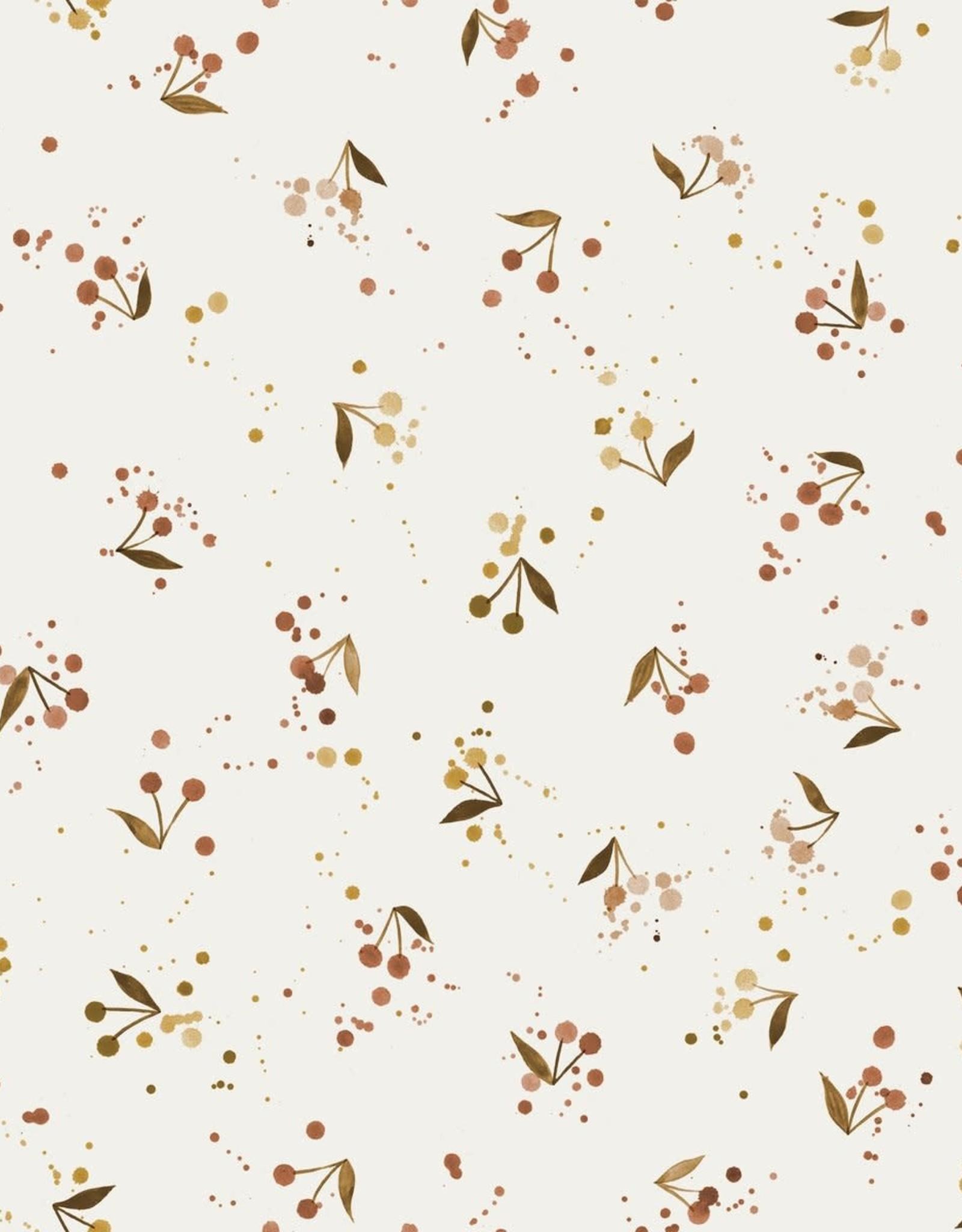 Family Fabrics French Terry - Family Fabrics - Cherries