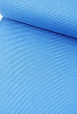Jacquard Jersey - Blauw
