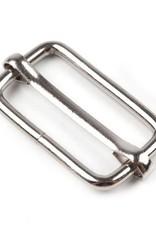 Schuifgesp 30mm - Zilver