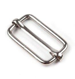 Schuifgesp 40mm - Zilver
