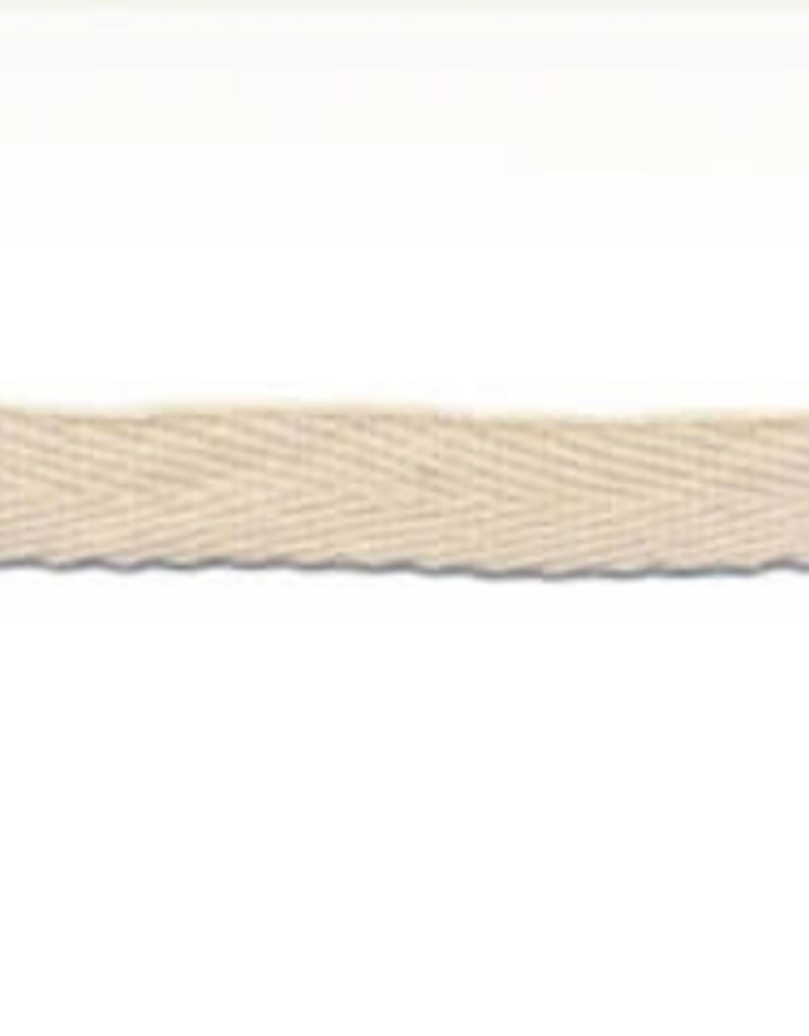 Katoenen lint Creme - per meter