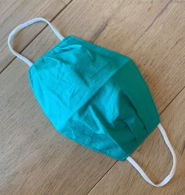 Mondmasker - Effen Turquoise