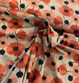 Tricot - Nevio Flowery Beige