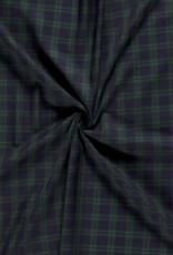 Gabardine - Tartan Petite Dark Green