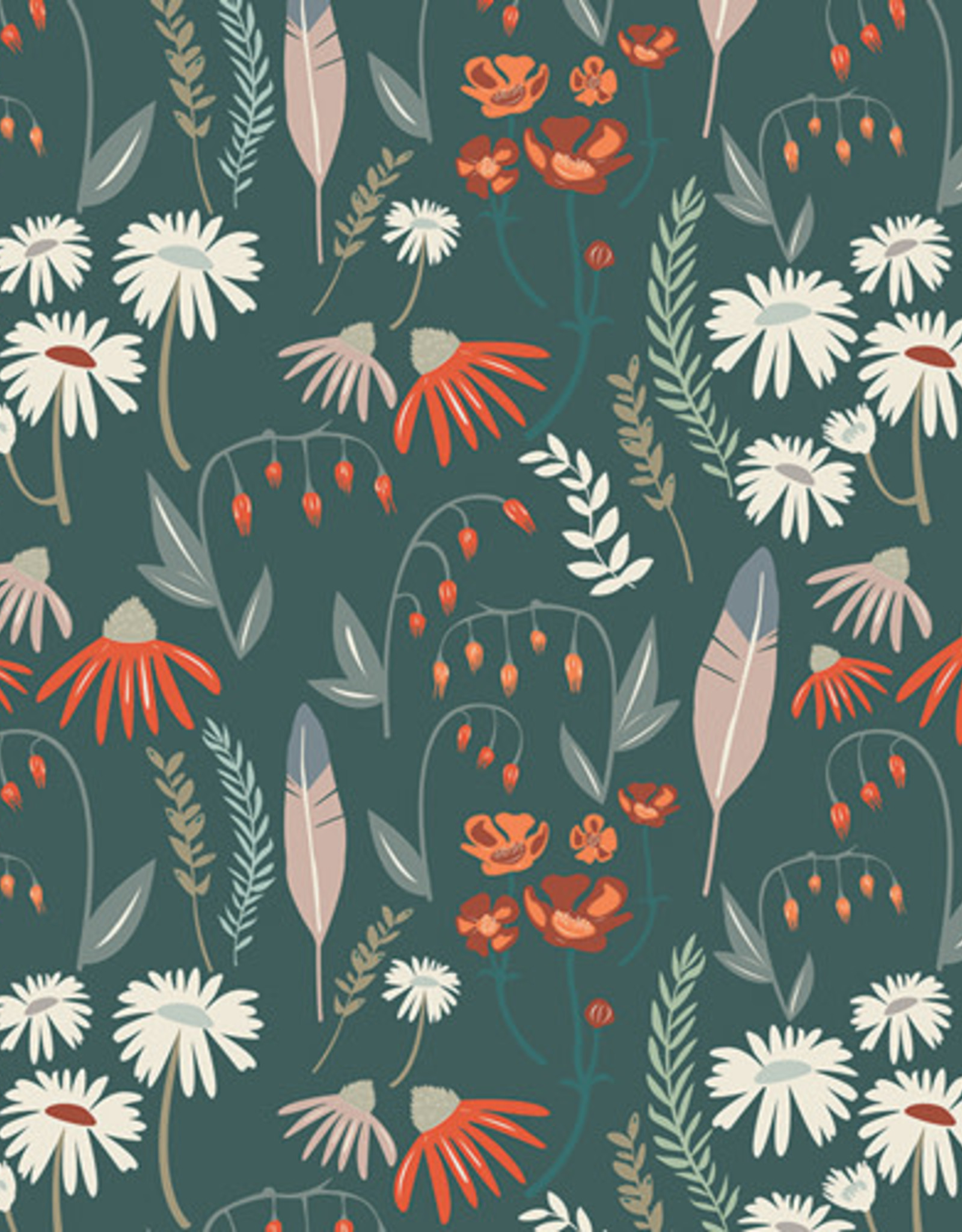 Art Gallery Fabrics Katoen - Wild Gatherings