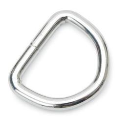 D-ring 15mm - Zilver