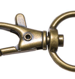 Musketonhaak - 20mm - Brons