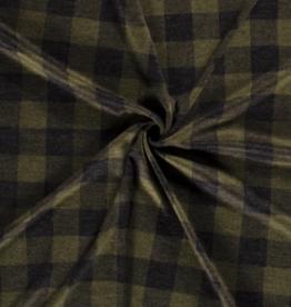 Knitted - Tartan Green/Black