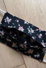 Mondmasker - Roses Black - Enveloppe