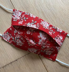 Mondmasker - Roses Red - Enveloppe