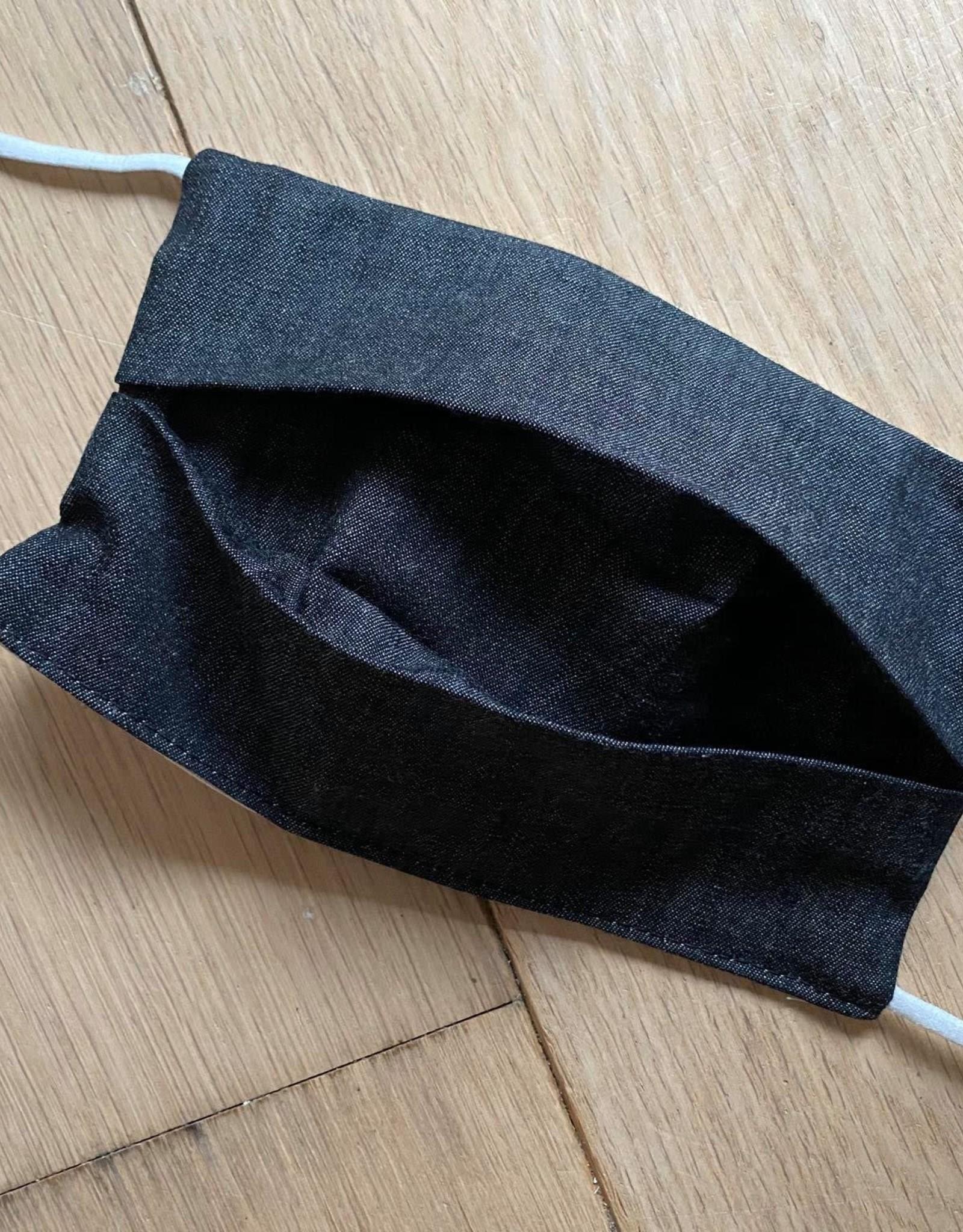 Mondmasker - Jeanslook Zwart - Enveloppe