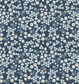 Katoen - Gardena Marineblauw