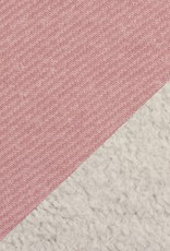 Sweat - Angeraut Doubleface Pink