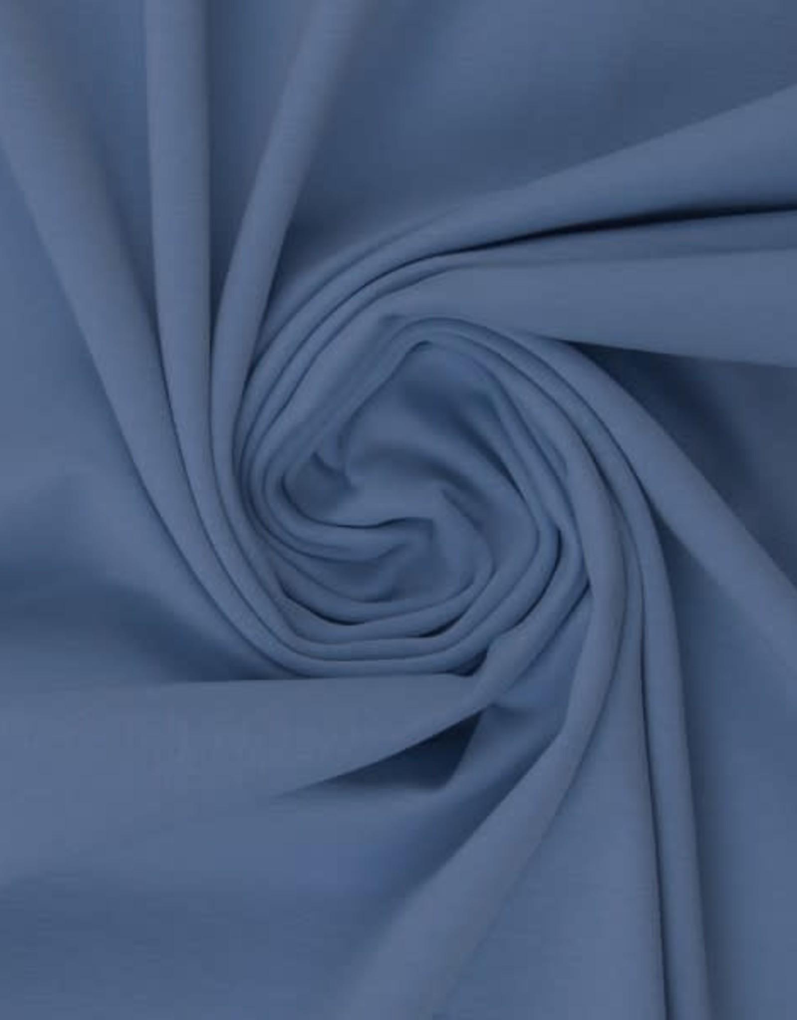 Katoentricot - Smokey Blue