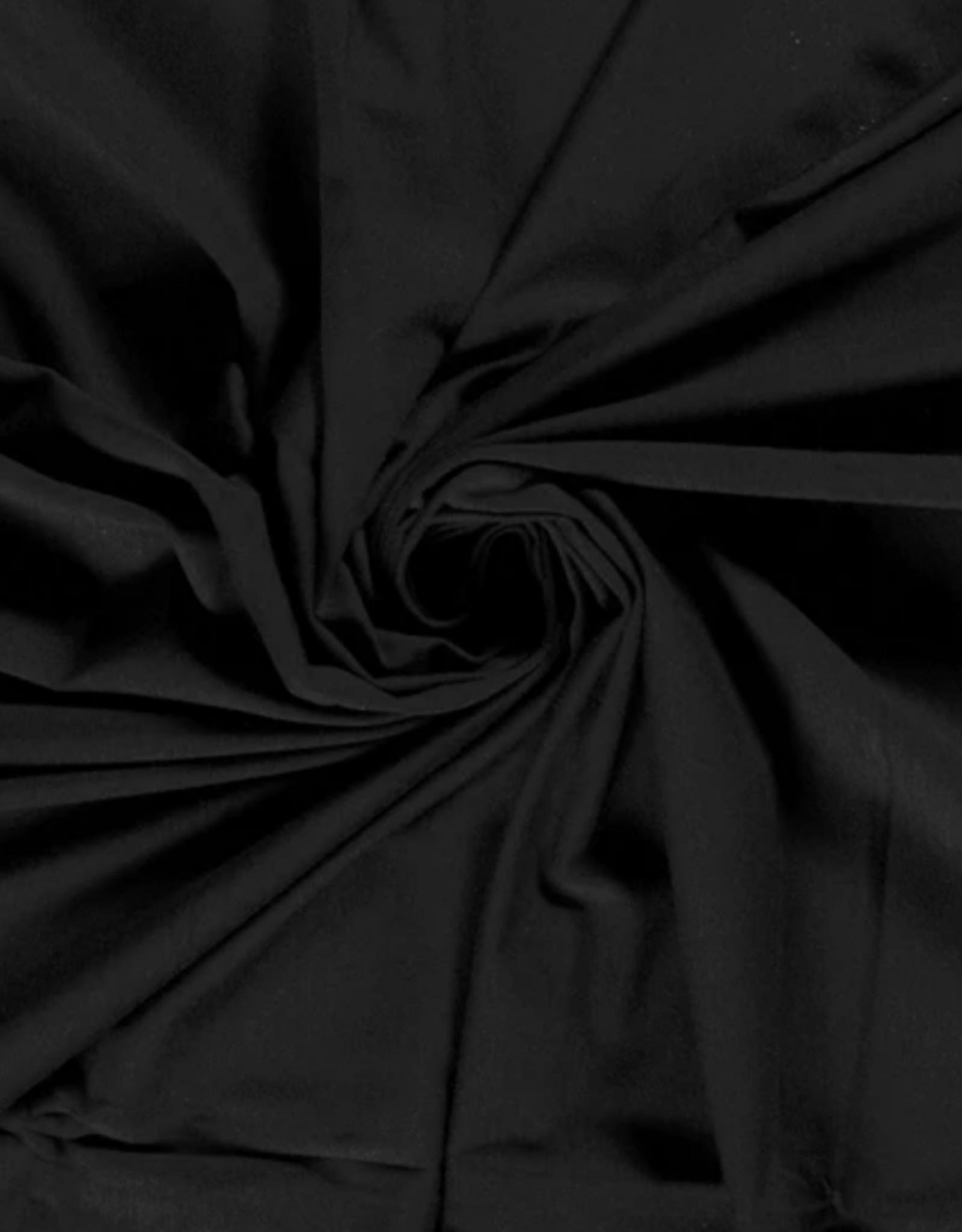 Bambootricot - Zwart