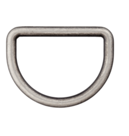 D-ring 25mm - Grijs