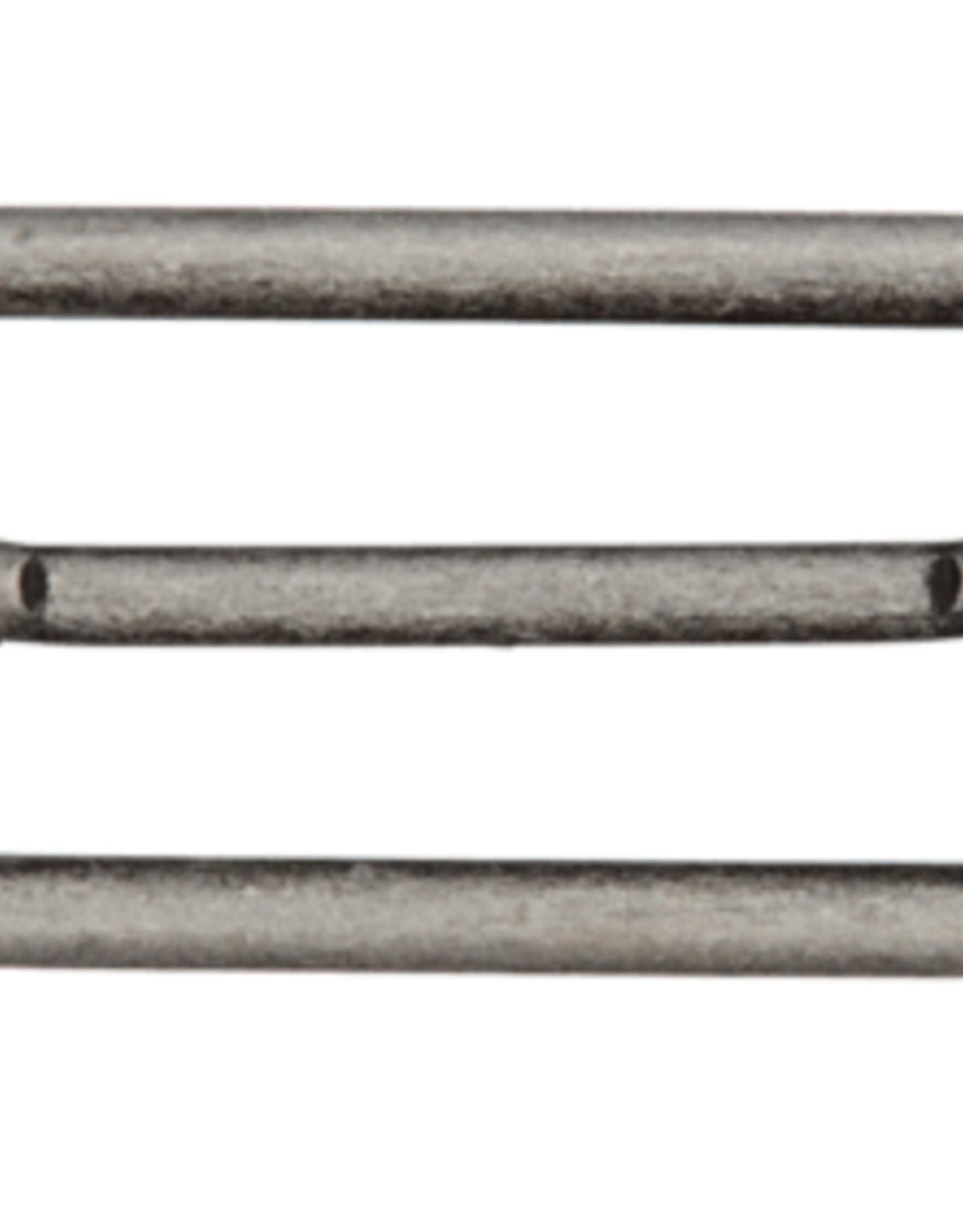 Schuifgesp 40mm - Grijs