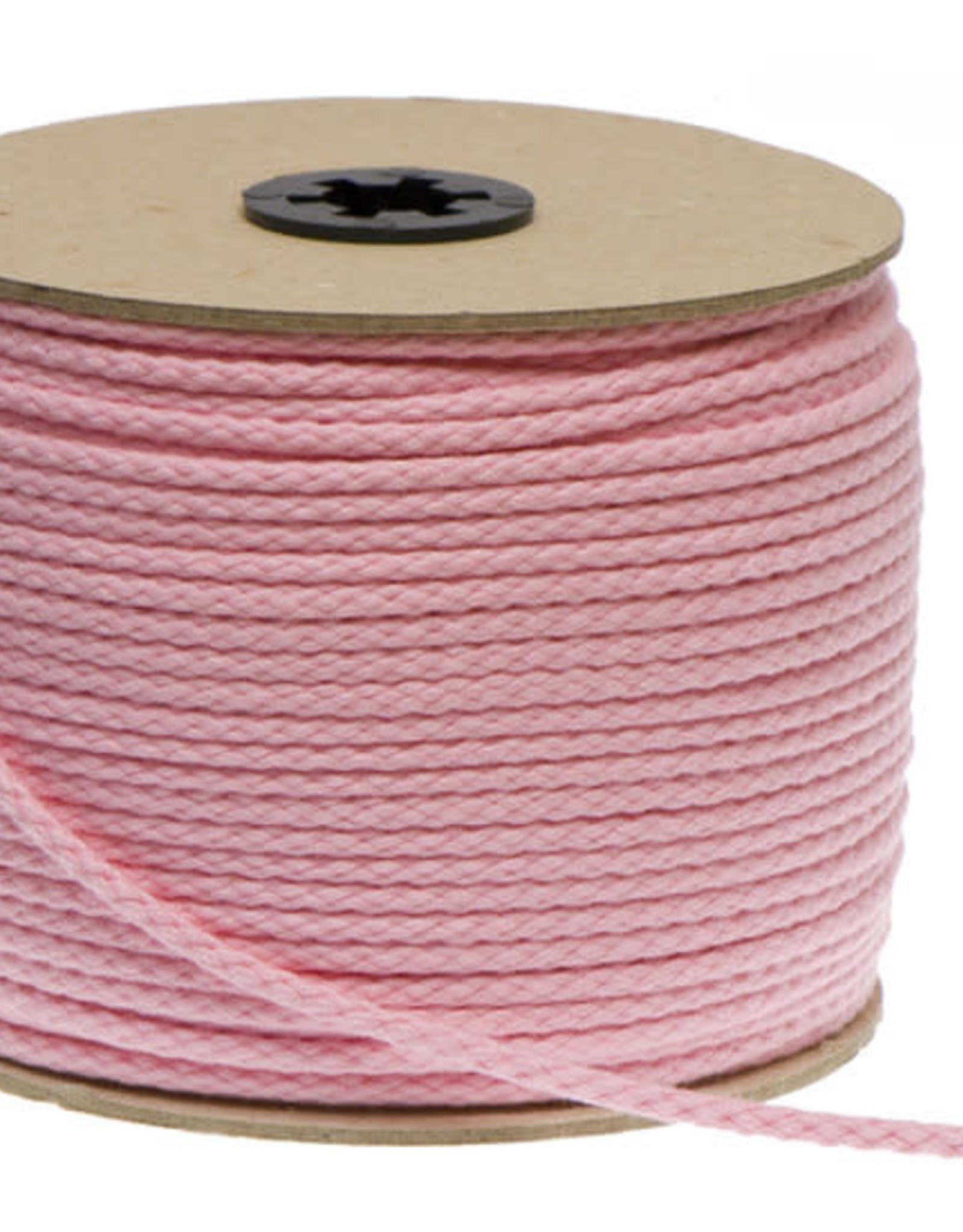 Katoenen Koord Roze  - 5mm