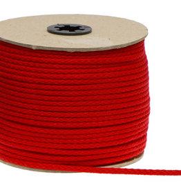 Katoenen Koord Rood  -5mm