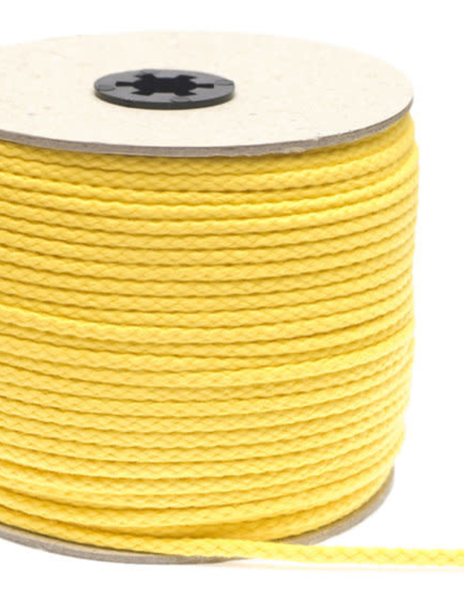 Katoenen Koord Geel - 5mm