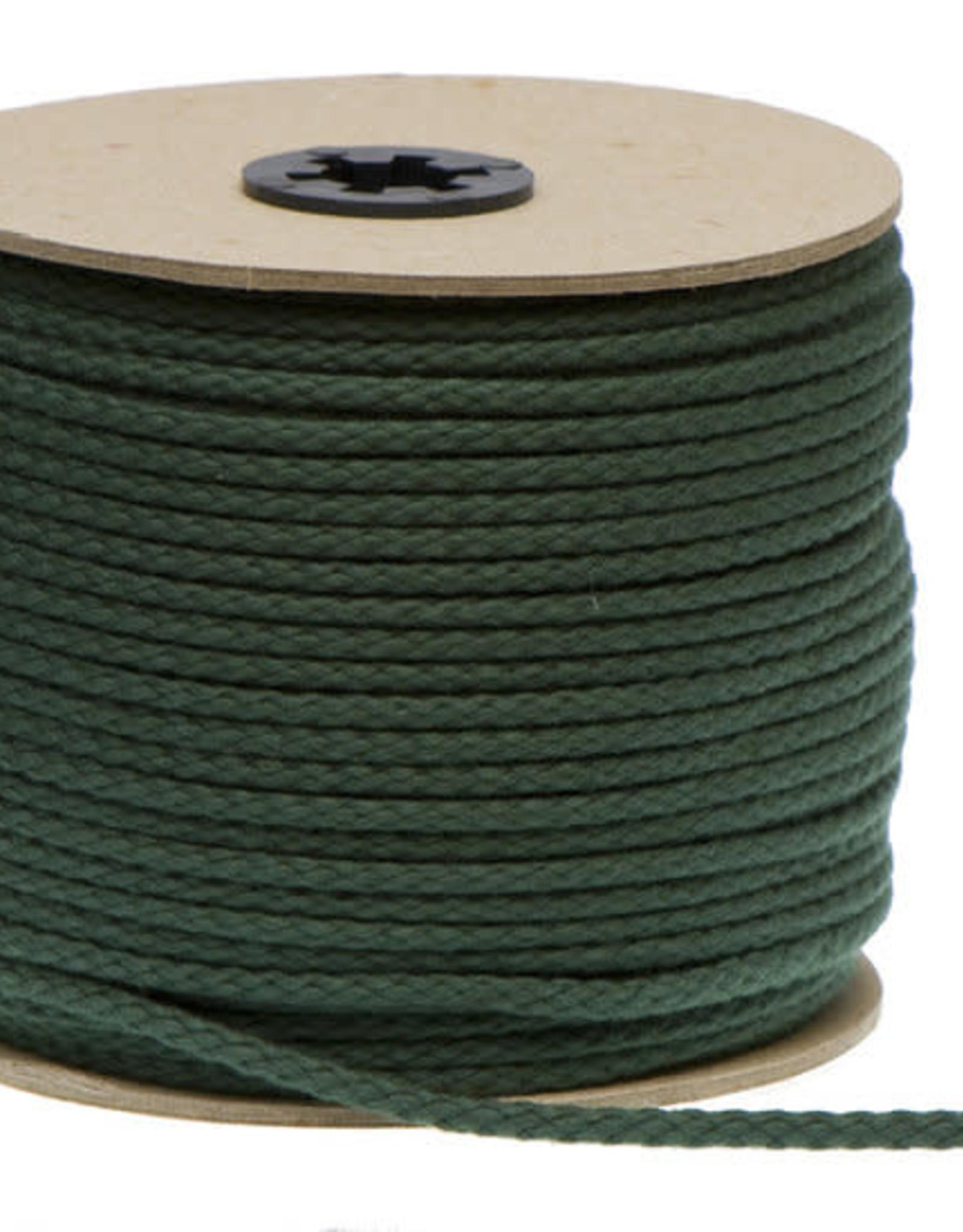 Katoenen Koord Donkergroen  - 5mm