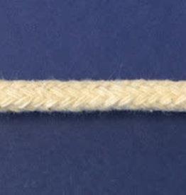 Katoenen Paspelkoord Creme  - 4mm (per meter)