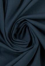 Katoentricot - Donkerblauw