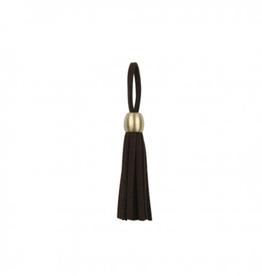 Tassel - Brons 5mm - Zwart