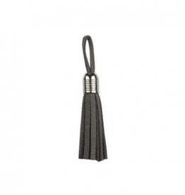 Clover Tassel - Zilver 5mm - Grijs